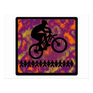 Bike SIck DAWG Postcard