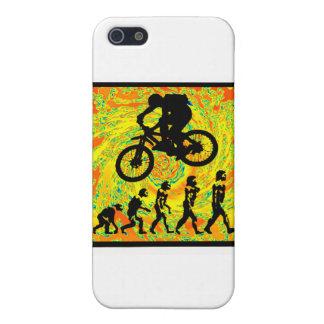 Bike Side Swiper iPhone 5 Case
