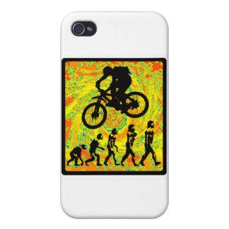 Bike Side Swiper iPhone 4 Cases