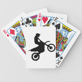 Bike Silhouette Bicycle Playing Cards