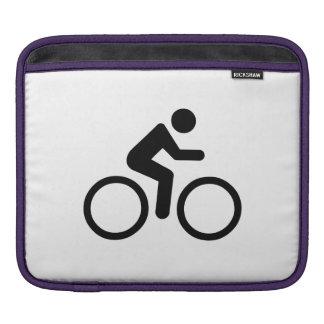 Bike Silhouette iPad Sleeves