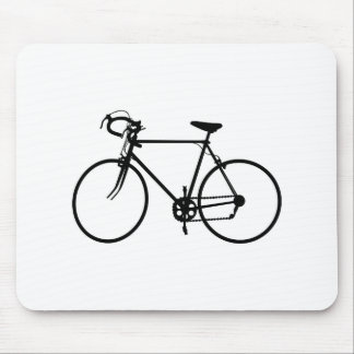 Bike Silhouette Mouse Pad