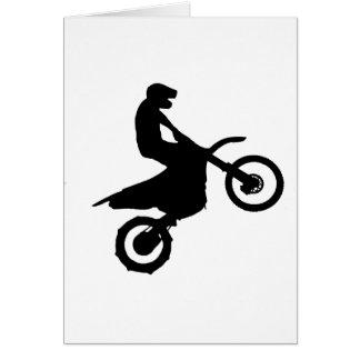 Bike Silhouette.png Greeting Card