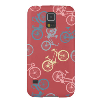 Bike silhouettes pattern case for galaxy s5