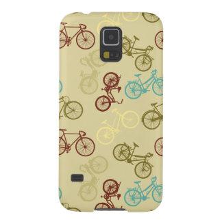 Bike silhouettes pattern galaxy s5 case