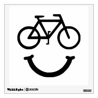 Bike Smile Wall Decal