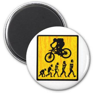 Bike Sol Trekking 2 Inch Round Magnet