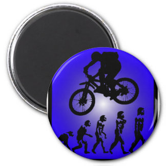 Bike Soldier On Magnet