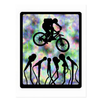 Bike Sonic Phonic Postcard