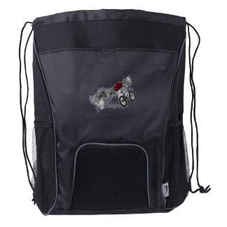 Bike Sport BMX Drawstring Backpack