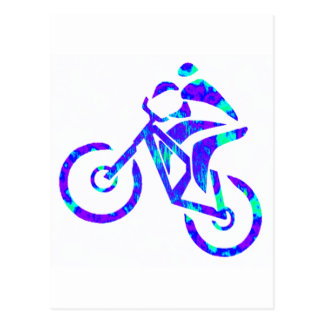 Bike Star Gazer Postcard
