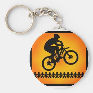 bike Star Shoot Keychain