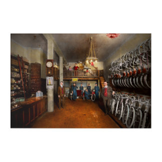 Bike - Store - Haverford Cycles 1919 Acrylic Print