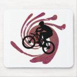 Bike su el suyo alfombrillas de raton