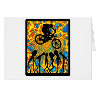 Bike Super Sonic Greeting Cards