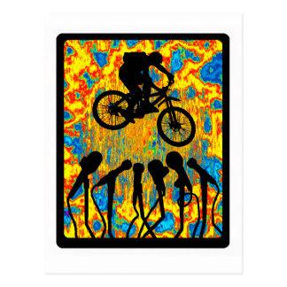 Bike Super Sonic Postcard