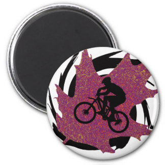 Bike Sweet Oaks Magnet