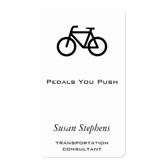 Bike Symbol Business Card