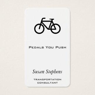 Bike Symbol Business Card