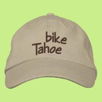 Bike Tahoe Embroidered Baseball Cap