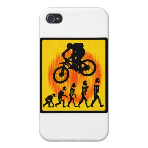 Bike the Art Cover For iPhone 4