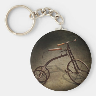 Bike - The Tricycle Basic Round Button Keychain