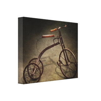 Bike - The Tricycle Canvas Print