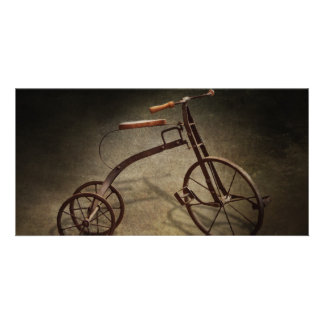 Bike - The Tricycle Photo Greeting Card