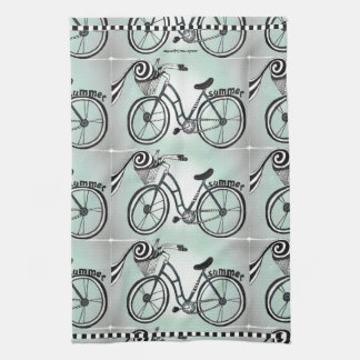 """Bike to the Beach"" Kitchen Towel"