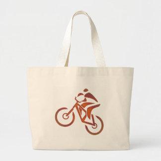 Bike todos en declive bolsa lienzo