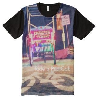 bike trail pedicab Los Angeles PediCab Company All-Over-Print T-Shirt