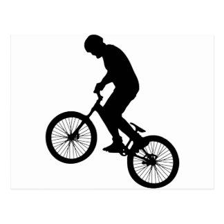 Bike Tricks Postcard