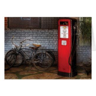Bike - Two Bikes and a Gas Pump Card