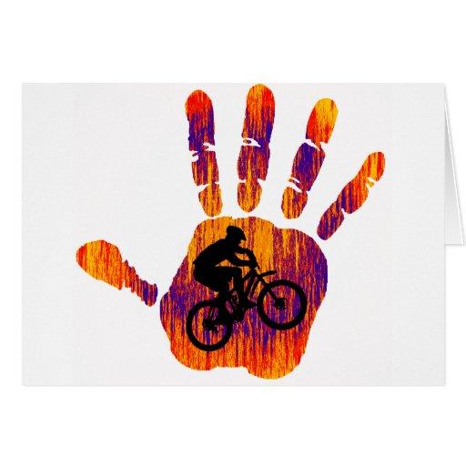 Bike un cierto verano tarjeta de felicitación