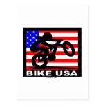 Bike USA Post Card