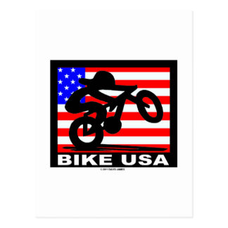 Bike USA Post Card
