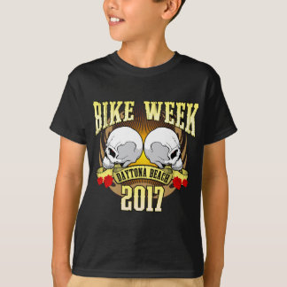 Bike Week Daytona 2 Skulls 2017 T-Shirt