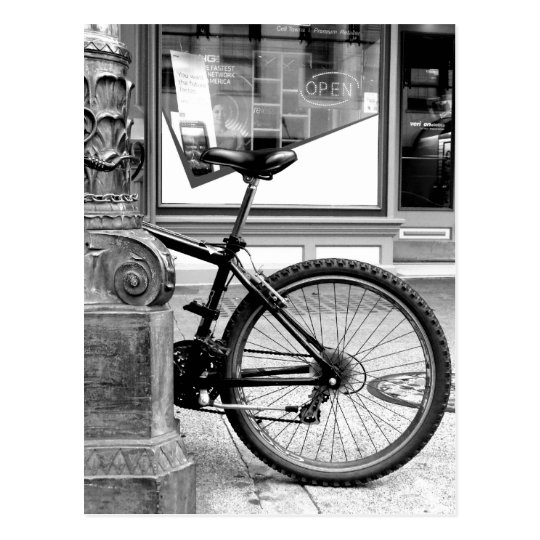 Bike Wheel Postcard