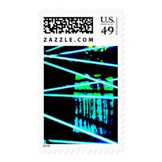 """Bike Wheel Three"" JTG Art Postage Stamp"
