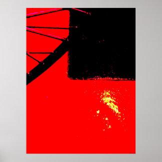 """""""Bike Wheel Two"""" JTG Art Poster"""