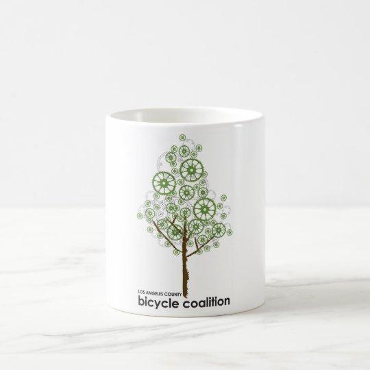 Bike Wheels Do Grow On Trees! Coffee Mug