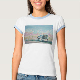 Bike with a Red Rock View Tee