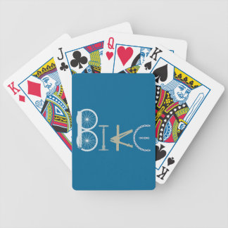 Bike Words from Bike Parts Bicycle Sports fan Bicycle Playing Cards