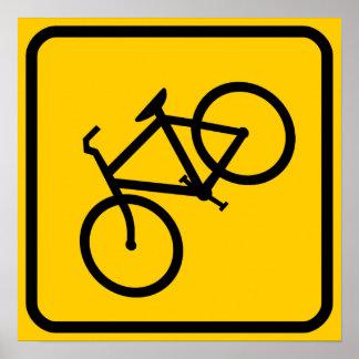 Bike XING Zone Poster