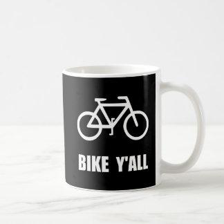 Bike Yall Coffee Mug