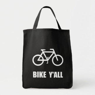 Bike Yall Tote Bag
