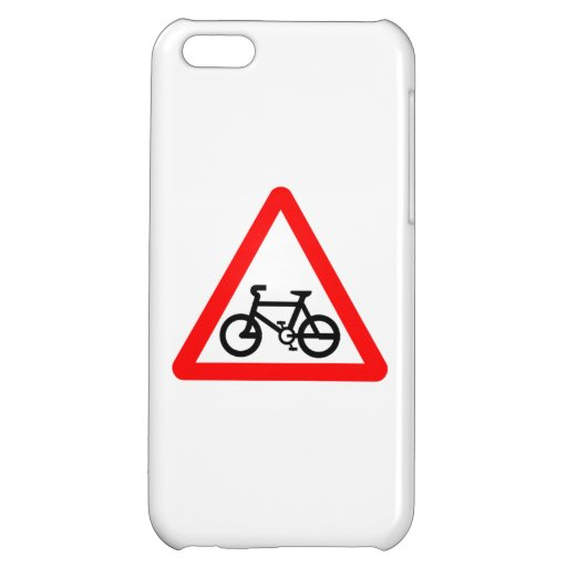 Bike Yield Sign iPhone 5C Cases
