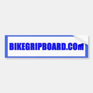 BIKEGRIPBOARD.COM BLUE BUMPER STICKER