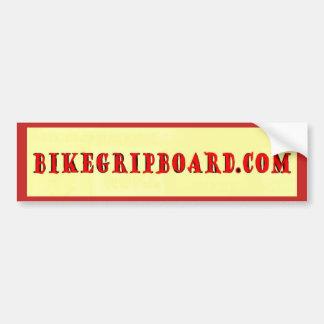 BIKEGRIPBOARD.COM BUMPER STICKER