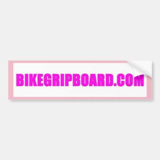BIKEGRIPBOARD.COM PINK BUMPER STICKER